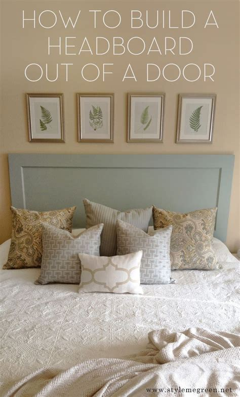 make a headboard out of a door 17 best images about repurposing wood doors recycle diy