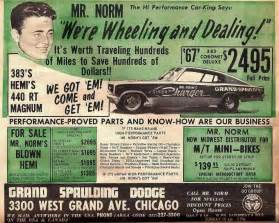 Mr Norms Dodge Mr Norm And His Grand Spaulding Dodge Go Fast Goodies