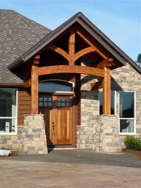 Timber Frame Entryways timber framed entryways showcase
