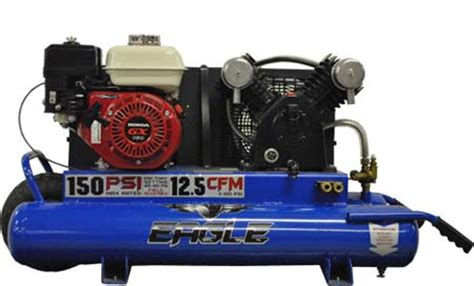 eagle tt55g portable gas air compressor the lawnmower hospital