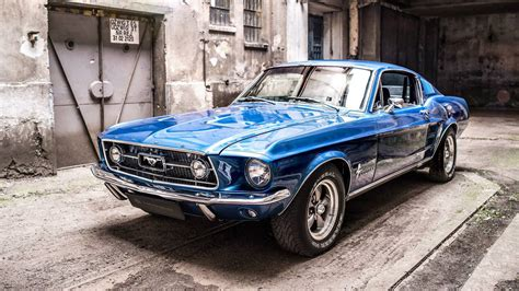 when was the mustang fastback made 1967 ford mustang fastback receives a modern interior makeover