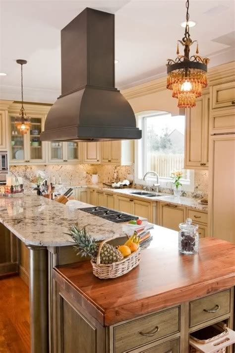 kitchen island hoods 1000 ideas about island stove on stove in