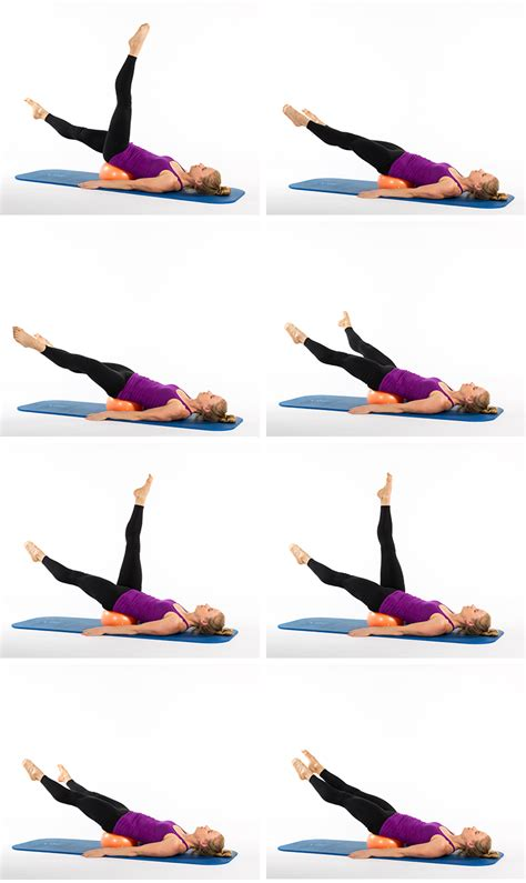 pilates strengthening exercises with a ace