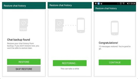 reset android whatsapp how to restore whatsapp backup from google drive to