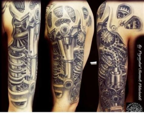 biomechanical tattoos tattoofanblog