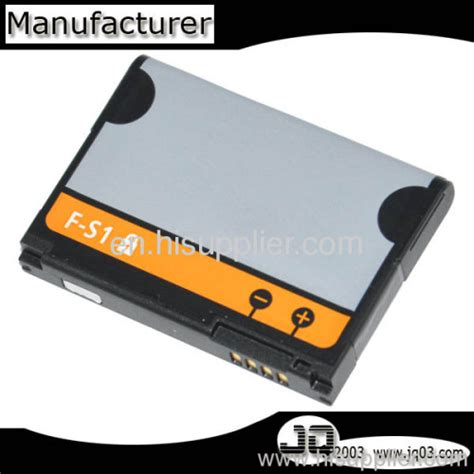 Baterai F S1 factory oem battery f s1 battery for blackberry battery