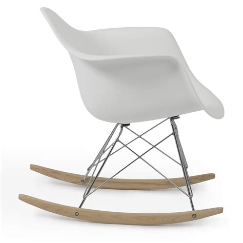 Arm Chair Rocker - retro dsw eames style modern arm chair rar rocker rocking