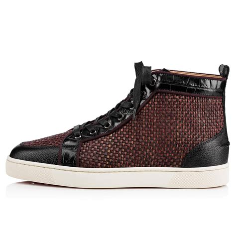 Shoes Rafifa louboutin bordeaux sneakers