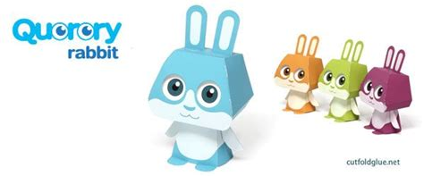 Toys With Paper - lapin quorory paper paper toys origami