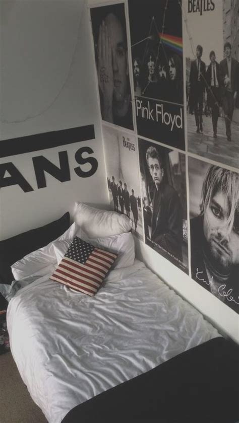 the bedroom band tumblr room r o o m s pinterest grey tumblr room