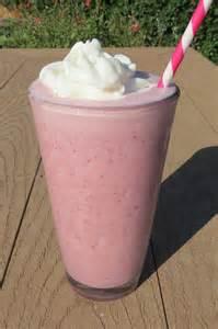 strawberry milkshake peanut butter and peppers