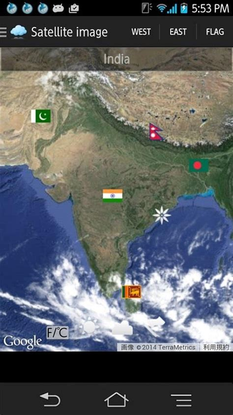 satellite weather map weather satellite map android apps on play