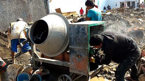 Mesin Molen cara menyalakan mesin molen beton mini mesin pengaduk mixer