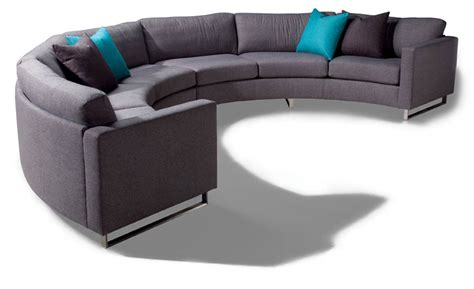 circle sofa design classic 1224 circular sectional sofa by milo