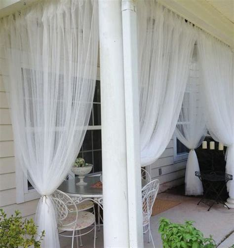 Outdoor Curtains Ikea 11 Mosquito Net Ideas Improving Porch Decorating And Balcony Designs