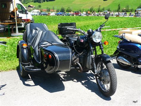 Dnepr Motorrad Bilder by Oldtimer Motorad Dnepr In St Stephan Am 02 07 2011