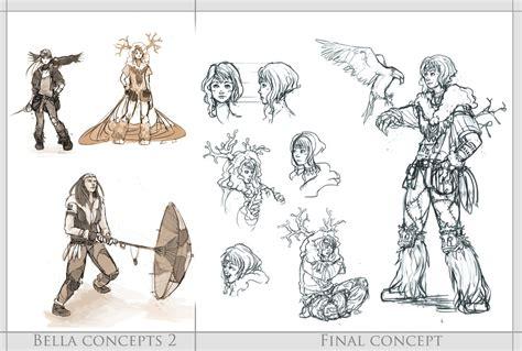 game concept design jobs bella concept final design by resusan on deviantart