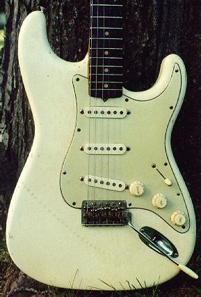 Gitar Elektrik Tele Ivory White another vintage strat question telecaster guitar forum