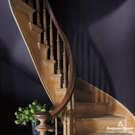 benjamin moore s shadow 2017 paint colour trends discover 9 showstopping colours