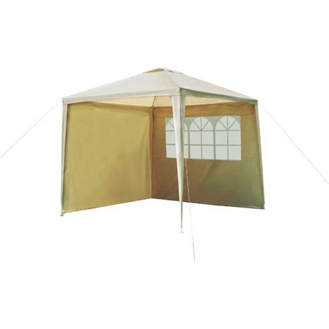 argos gazebos and garden awnings buy home square garden gazebo with side panels cream at argos co uk your online