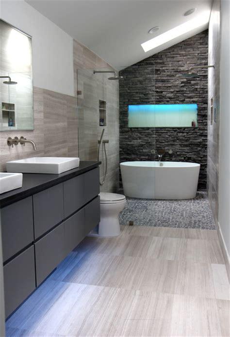bathroom inc cool gray contemporary bathroom atlanta by change