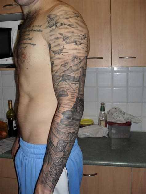 army sleeve tattoo army tattoos and designs page 120