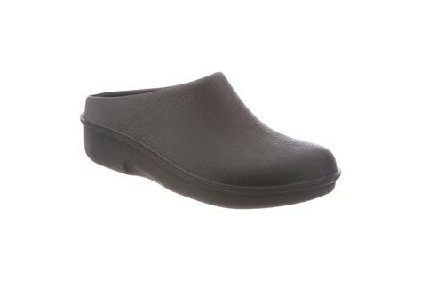 klogs footwear unisex kennett black polyurethane open back