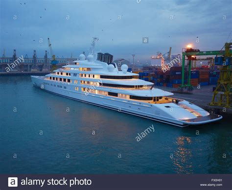 azzam yacht interni azzam yacht docked in cassablanca morocco at stock