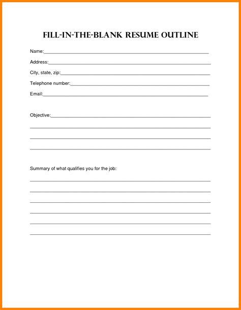 9 blank curriculum vitae addressing letter