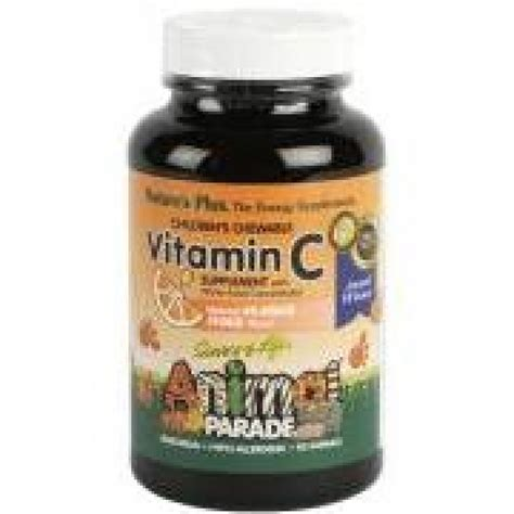 Vitamin Anak Animal Parade Nature S Plus Animal Parade Vitamin C 90 Chewable Tablets