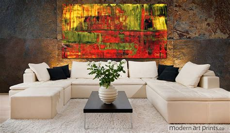 abstract living room modern prints framed wall large canvas prints