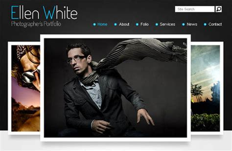 free html5 photography website templates 50 beautiful yet free html5 and css3 templates