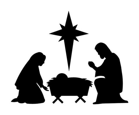 christmas nativity scene stencils woodworking projects