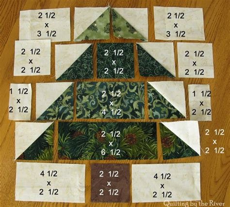 Tree Quilt Block by Quilting By The River Tree Decor