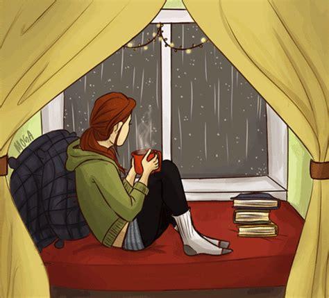 libro rainy days das de rain gifs on