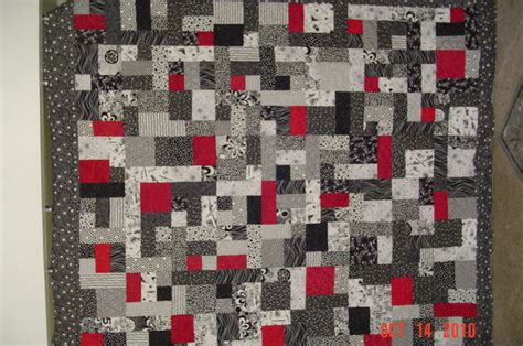 Black Quilt by Black And White Quilt