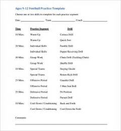 practice schedule template practice schedule template 7 free sle exle