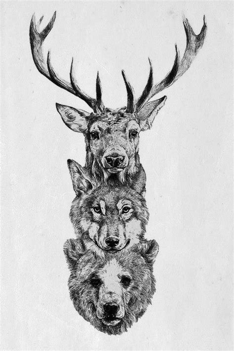 tattoo inspiration animals forest creature tattoo inspiration this would be cool on