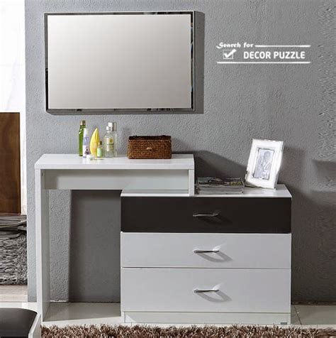 white contemporary dressing table luxury modern white dressing table designs with mirror and