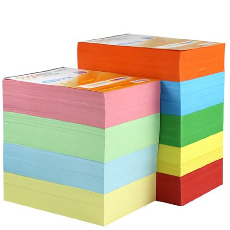 Paper Supplies - new copy printing color paper a4 100 sheets 80g