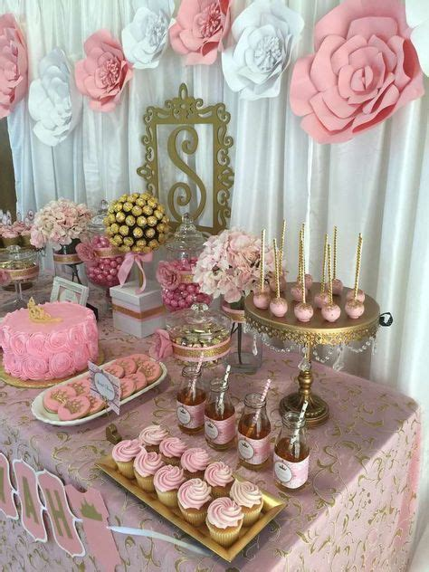 baby girl shower table setting baby shower pinterest the 25 best ideas about baby shower flowers on pinterest