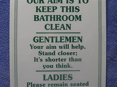 funny bathroom signs for cleanliness funny bathroom signs for men home design ideas