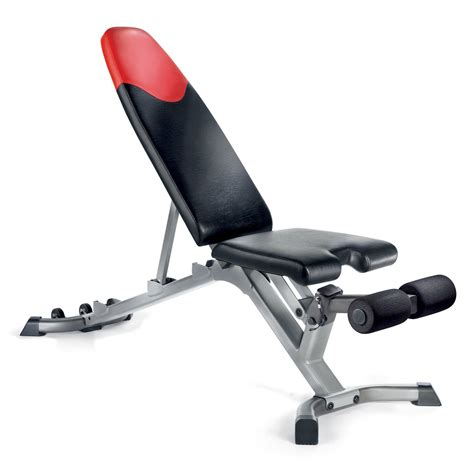 Bowflex Selecttech 3 1 Adjustable Bench Weight Benches At Hayneedle