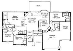 Basement Floor Plans On Pinterest Mansion Floor Plans Ranch House Plans With Formal Living Room