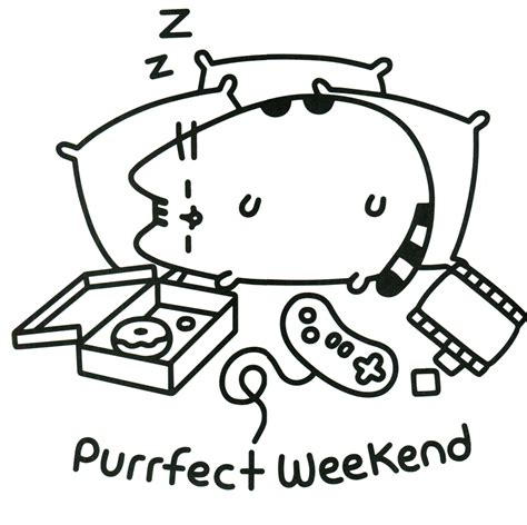 U Coloring Pages Free by Pusheen Coloring Pages Best Coloring Pages For