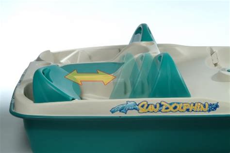 sun dolphin 5 seat pedal boat with canopy sun dolphin sun slider 5 seat pedal boat with canopy blue