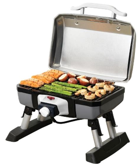 electric patio grills new cuisinart ceg 980t outdoor electric tabletop patio