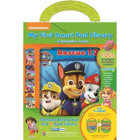 Paw Patrol My Library paw patrol 8 books my smart pad library box set big w