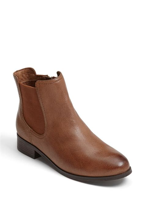 trotters boots trotters boot in brown cognac lyst