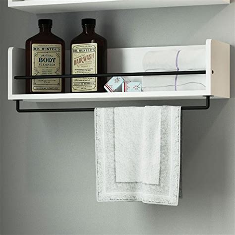 White Bathroom Shelves 20 Best Wooden Bathroom Shelves Reviews